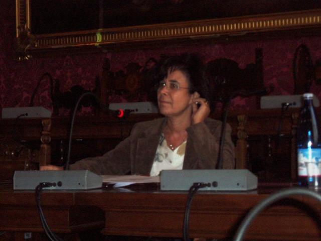 La prof.ssa Donatella Bramanti dell'Università Cattolica di Milano